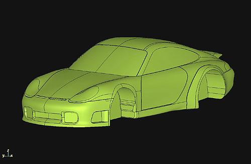 風洞モデル1