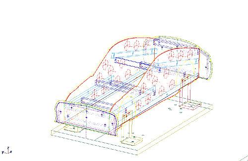風洞モデル2