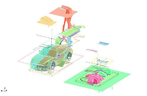 風洞モデル3