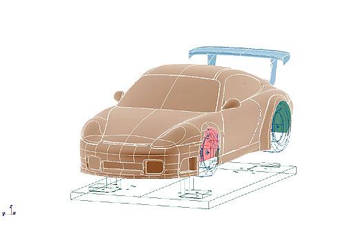 風洞モデル4