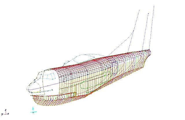 航空機 型 治具2
